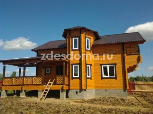 Новая,теплая дача с удобствами для большой  семьи