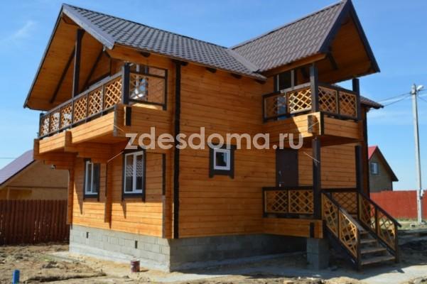 Дом от застройщика в коттеджном поселке 160 кв.м. с газовым отоплением на участке 12 соток, по Ярославскому направлению, 89 км от МКАД