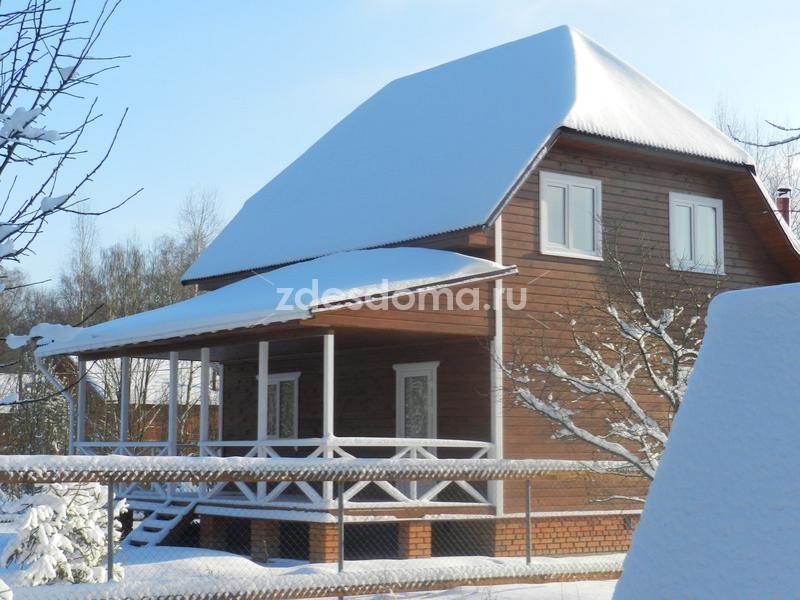 Дача дом  у края леса Киевское калужское шоссе 8 соток СНТ Звездочка Боровский район